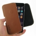 iPhone 6 6s Leather Holster Pouch Case (Brown) genuine leather case by PDair