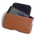 LG G3 Leather Holster Pouch Case (Brown) top quality leather case by PDair