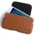 Samsung Galaxy J5 Leather Holster Pouch Case (Brown) custom degsined carrying case by PDair