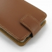 Motorola Droid Razr Maxx HD Leather Flip Top Case (Brown) handmade leather case by PDair