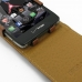 Motorola Droid Razr Maxx HD Leather Flip Top Case (Brown) genuine leather case by PDair