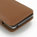 Motorola Droid Razr Maxx HD Pouch Case with Belt Clip (Brown) protective carrying case by PDair