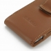 Motorola Droid Razr Maxx HD Pouch Case with Belt Clip (Brown) genuine leather case by PDair