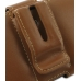 Motorola RAZR XT910 Leather Holster Case (Brown) protective carrying case by PDair
