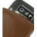Nokia E71 Leather Sleeve Pouch Case (Brown) protective carrying case by PDair