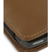 Nokia E71 Leather Sleeve Pouch Case (Brown) genuine leather case by PDair