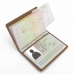 Travel Passport Leather Wallet Holder Case (Brown) offers worldwide free shipping by PDair