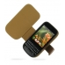 Sprint Palm Pixi Leather Flip Cover (Brown) offers worldwide free shipping by PDair