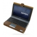 Sotec Minimum PC C102 Series Leather Flip Cover (Brown) offers worldwide free shipping by PDair