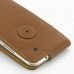 Samsung Galaxy S3 Leather Flip Case (Brown) protective carrying case by PDair
