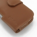 Samsung Galaxy S3 Leather Holster Case (Brown) protective carrying case by PDair