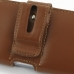 Samsung Galaxy S3 Leather Holster Case (Brown) genuine leather case by PDair