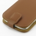 Samsung Galaxy S3 Leather Flip Top Case (Brown) handmade leather case by PDair
