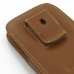 Samsung Galaxy S3 Pouch Case with Belt Clip (Brown) handmade leather case by PDair
