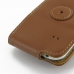 Samsung Galaxy S3 Mini Leather Flip Case (Brown) protective carrying case by PDair
