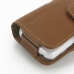 Samsung Galaxy S4 zoom Leather Holster Case (Brown) protective carrying case by PDair