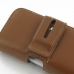 Samsung Galaxy S4 zoom Leather Holster Case (Brown) handmade leather case by PDair