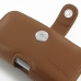 Samsung Galaxy S4 zoom Leather Holster Case (Brown) genuine leather case by PDair