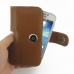 Samsung Galaxy S4 zoom Leather Holster Case (Brown) top quality leather case by PDair