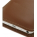 Samsung Galaxy S WiFi 5.0 Leather Sleeve Pouch Case (Brown) protective carrying case by PDair
