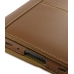 Samsung Galaxy Tab 7.0 Plus Leather Flip Carry Cover (Brown) genuine leather case by PDair