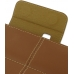 Samsung Galaxy Tab 7.0 Plus Leather Flip Carry Cover (Brown) top quality leather case by PDair