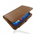 Samsung Galaxy Tab 7.0 Plus Leather Flip Carry Cover (Brown) offers worldwide free shipping by PDair
