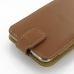 Samsung Ativ S Leather Flip Top Case (Brown) handmade leather case by PDair