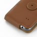 Samsung Galaxy S Duos Leather Flip Case (Brown) protective carrying case by PDair