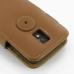 Samsung Galaxy S2 Epic Leather Flip Cover (Brown) protective carrying case by PDair