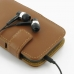 Samsung Galaxy S2 Epic Leather Flip Cover (Brown) handmade leather case by PDair