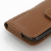 Samsung Galaxy S2 Epic Leather Holster Case (Brown) protective carrying case by PDair