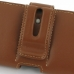 Samsung Galaxy S2 Epic Leather Holster Case (Brown) genuine leather case by PDair
