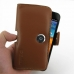Samsung Galaxy S2 Epic Leather Holster Case (Brown) top quality leather case by PDair