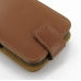 Samsung Galaxy S2 Epic Leather Flip Top Case (Brown) handmade leather case by PDair