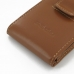 Samsung Galaxy S2 Epic Pouch Case with Belt Clip (Brown) genuine leather case by PDair