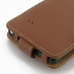 Samsung Galaxy Note 4 Leather Flip Case (Brown) handmade leather case by PDair