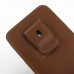 Samsung Galaxy Note 4 Pouch Case with Belt Clip (Brown) top quality leather case by PDair