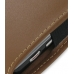 Samsung Omnia i908 i900 Pouch Case with Belt Clip (Brown) top quality leather case by PDair
