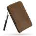 Samsung Omnia i908 i900 Leather Sleeve Pouch Case (Brown) custom degsined carrying case by PDair