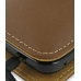 Samsung i8000 Omnia II Leather Flip Cover (Brown) genuine leather case by PDair