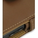 Samsung i8000 Omnia II Leather Flip Cover (Brown) top quality leather case by PDair