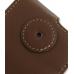 Samsung i8000 Omnia II Leather Flip Case (Brown) protective carrying case by PDair