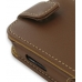 Samsung i8000 Omnia II Leather Flip Case (Brown) handmade leather case by PDair