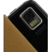 Samsung i8000 Omnia II Leather Flip Case (Brown) top quality leather case by PDair