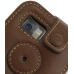 Samsung i8000 Omnia II Leather Sleeve Case (Brown) protective carrying case by PDair