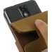 Samsung Infuse Leather Flip Case (Brown) handmade leather case by PDair