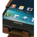 Samsung Infuse Leather Flip Case (Brown) genuine leather case by PDair