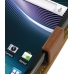 Samsung Infuse Leather Flip Case (Brown) top quality leather case by PDair