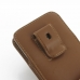 Samsung Galaxy Note 3 Pouch Case with Belt Clip (Brown) top quality leather case by PDair